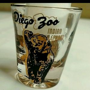 3/$15 Shot Glass San Diego Zoo